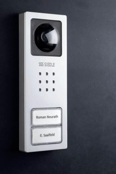 kit compact video 2 buttons siedle set cv 2. Black Bedroom Furniture Sets. Home Design Ideas