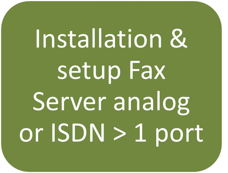how to create a fax server on my network