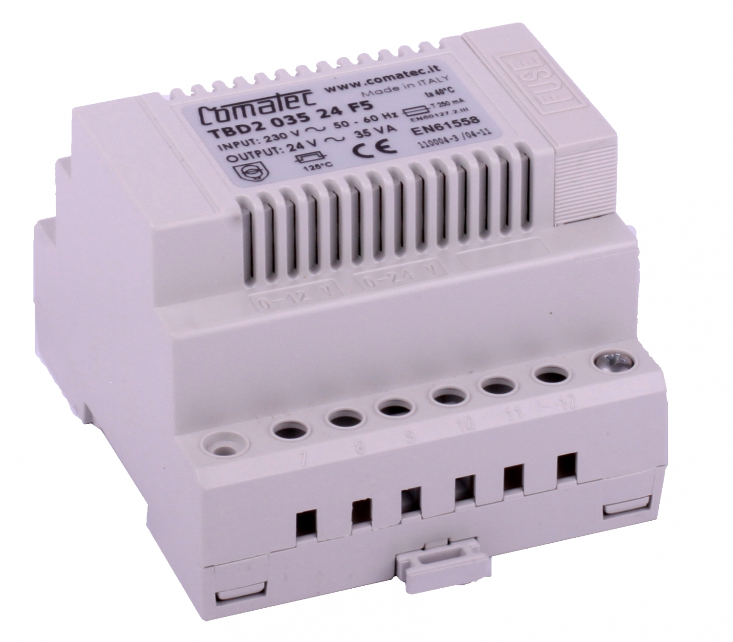Independant Power Supply For Ac Lock Din Rail 24vac